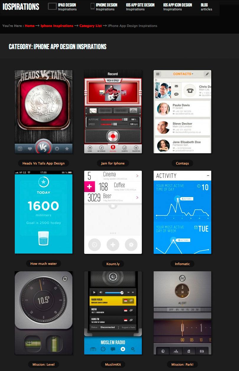 Ipad Design Patterns Mobile Design Patterns